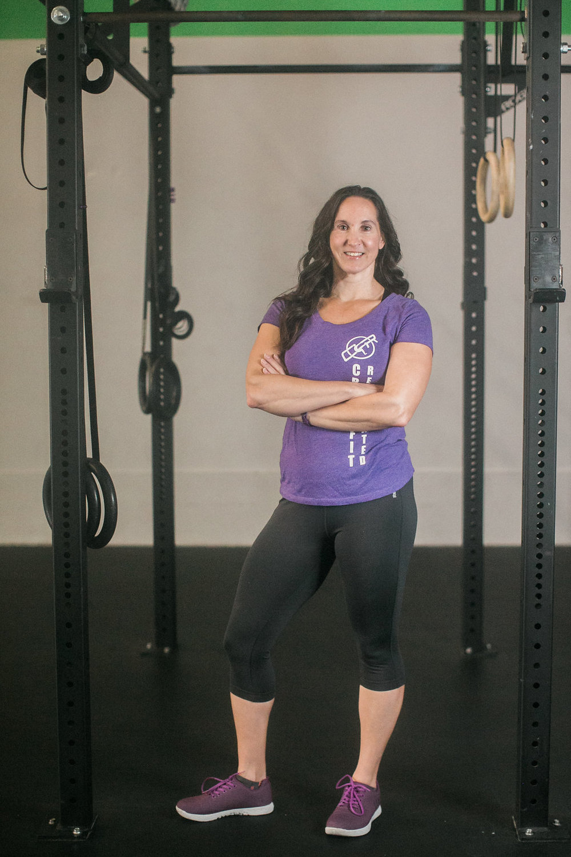 Michelle McGrevy CrossFit Reanimated Virginia Beach