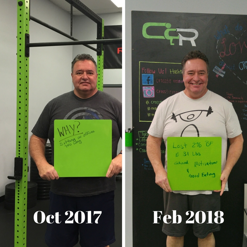 This is Jerry 4 months in and down 31 lbs!