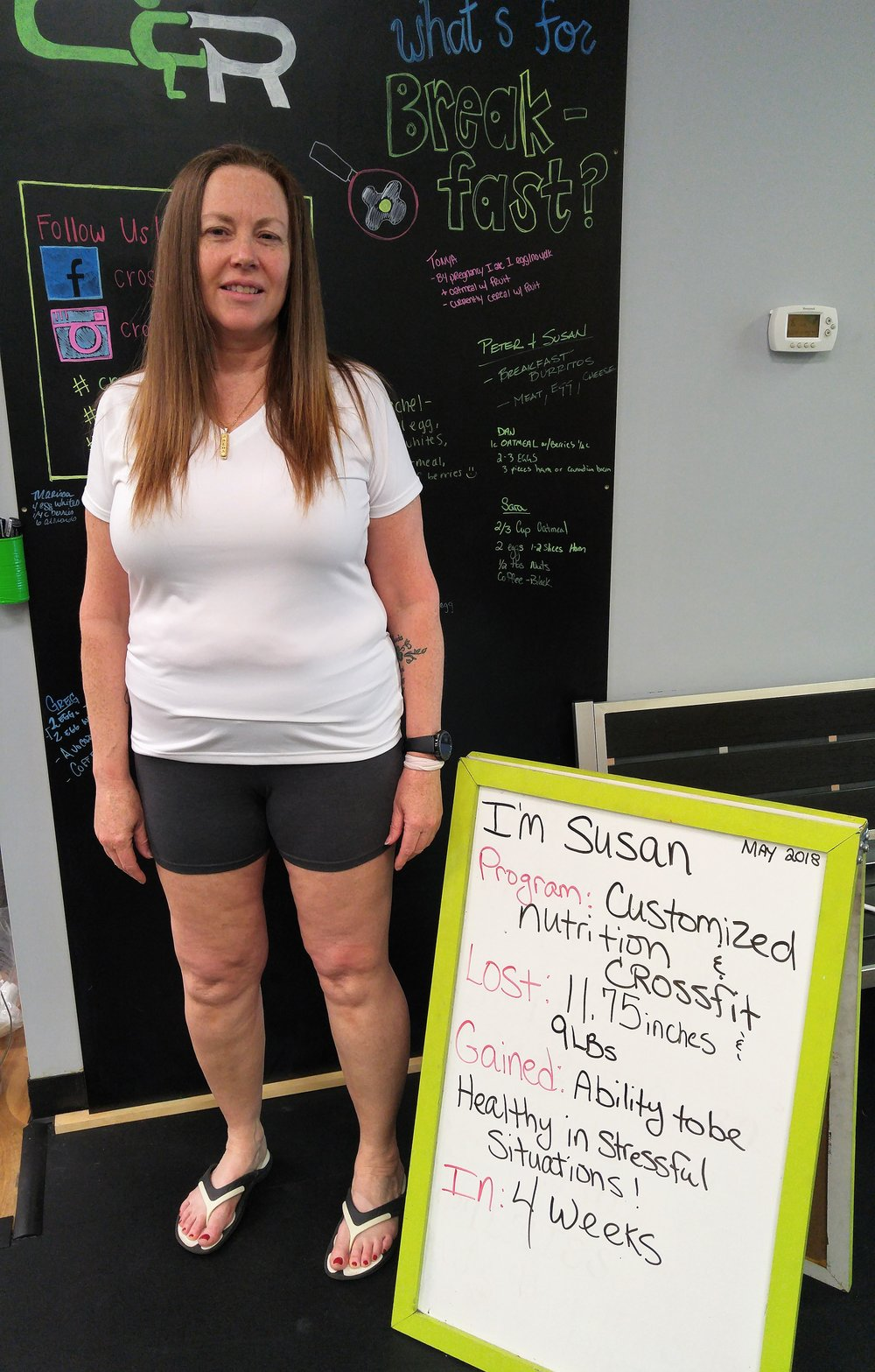 Susan's Nutrition Story