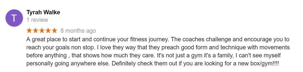 CrossFit-Virginia-Beach-Google-Review