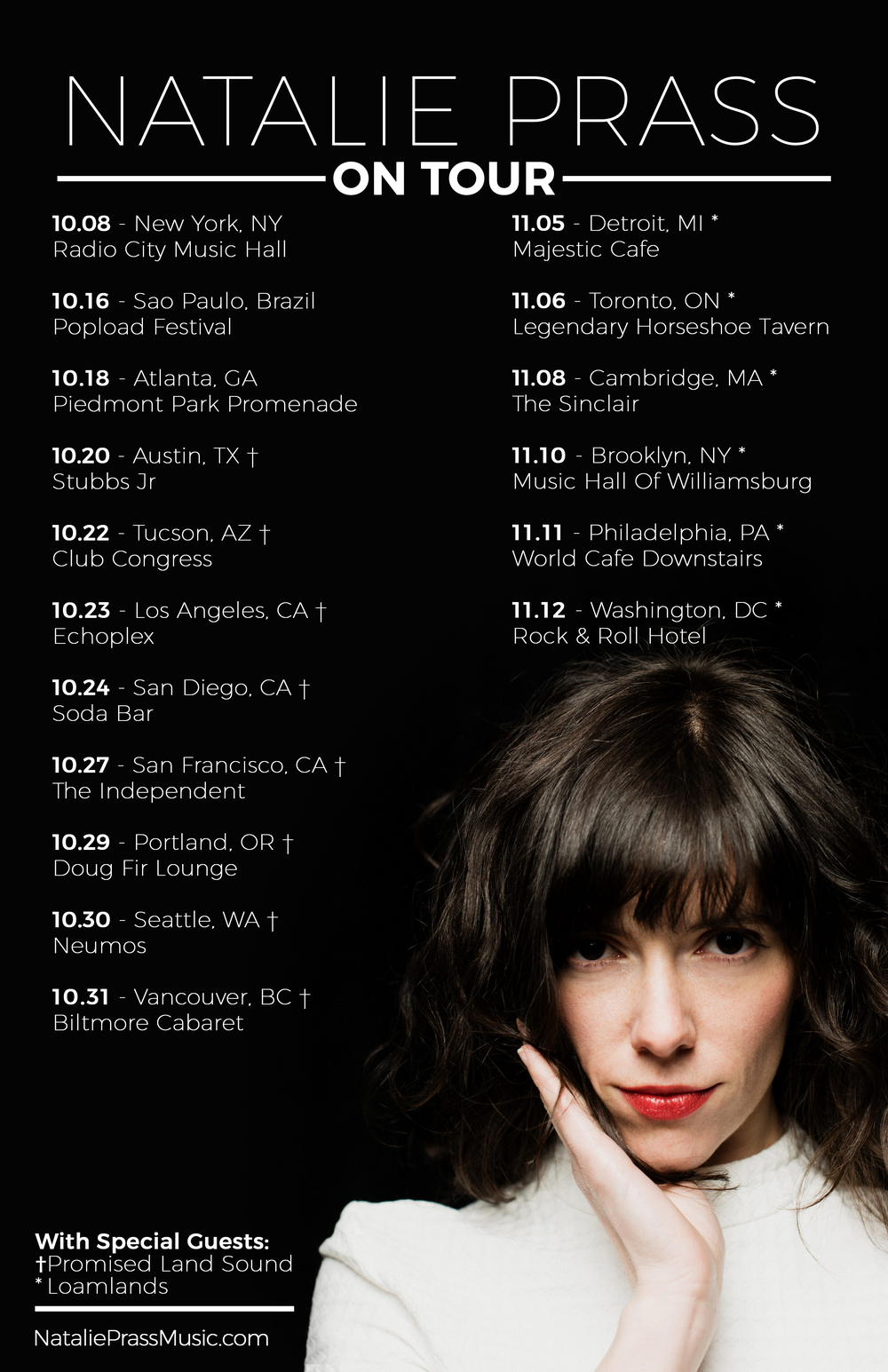 Natalie Prass Tour Poster