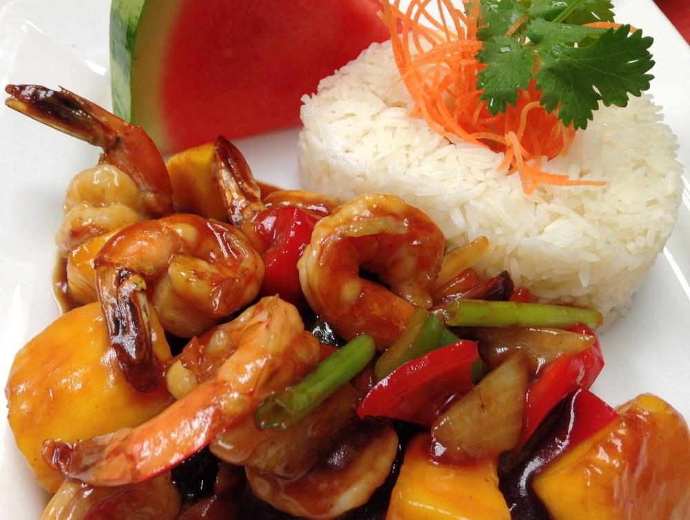 L. Mango Shrimp