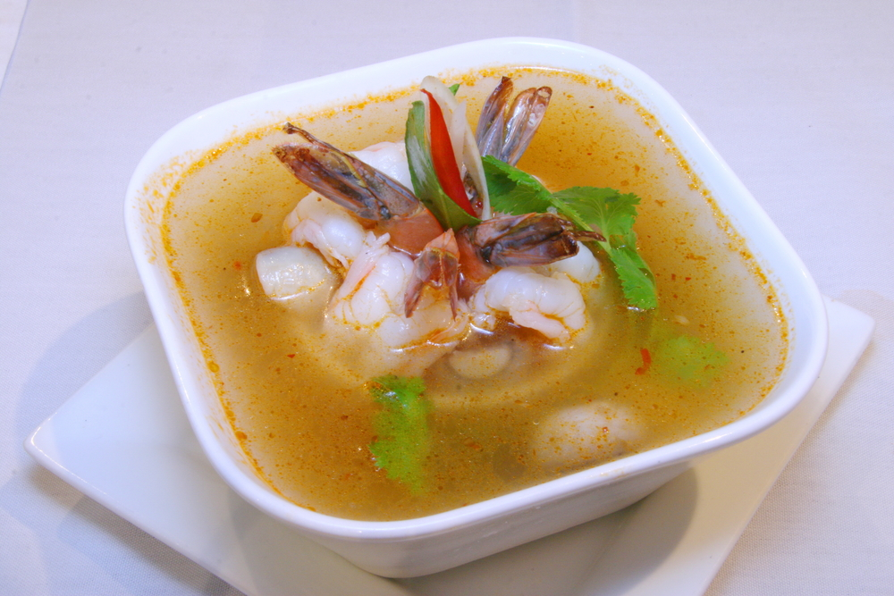 S1. TOM YUM SOUP (Lemongrass soup)