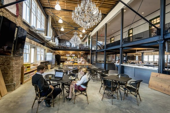 The Dryades Public Market, the first stop for our new series, The Somm's Pick Dining Club