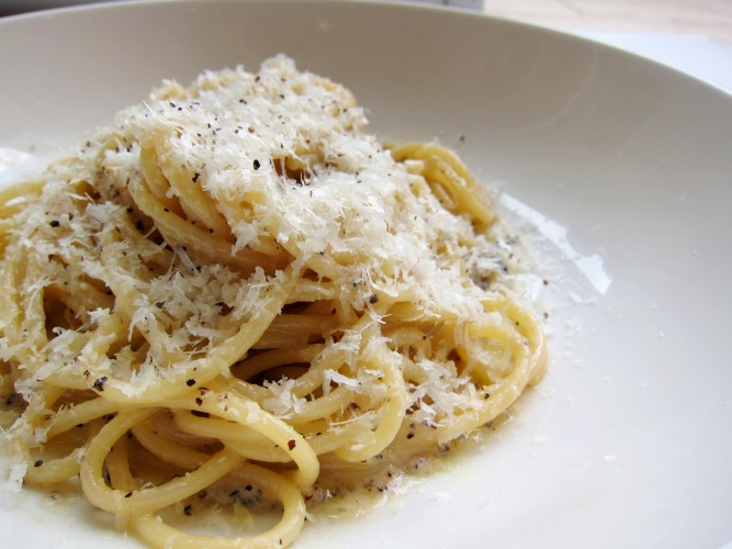 Every trip to Rome should include a plate of Cacio e Pepe!