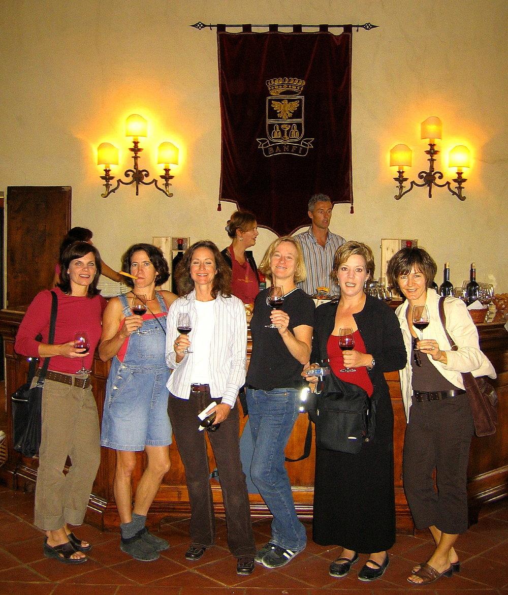 Castello Banfi, Montalcino - First Italy Trip, 2004
