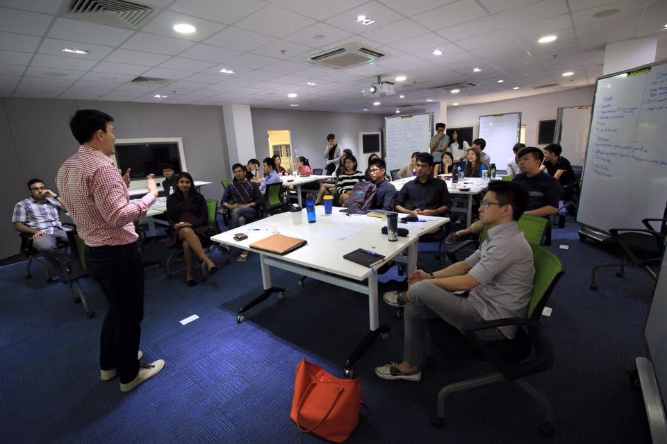 Engagement Training Session, 2015