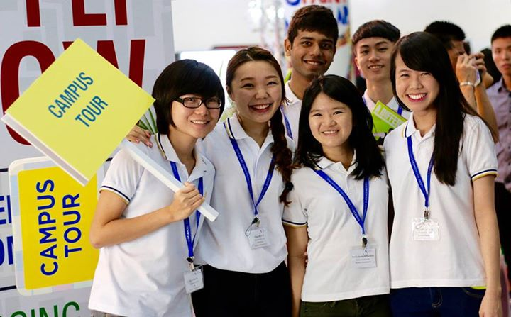 Our Ambassadors during Open House, 2015