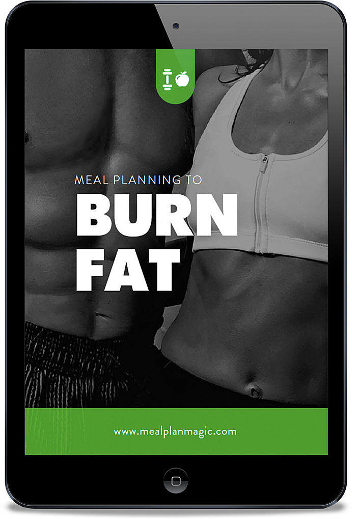 Meal Planning to Burn Fat Loss_ebook template Meal Plan Magic Prep Software Tool