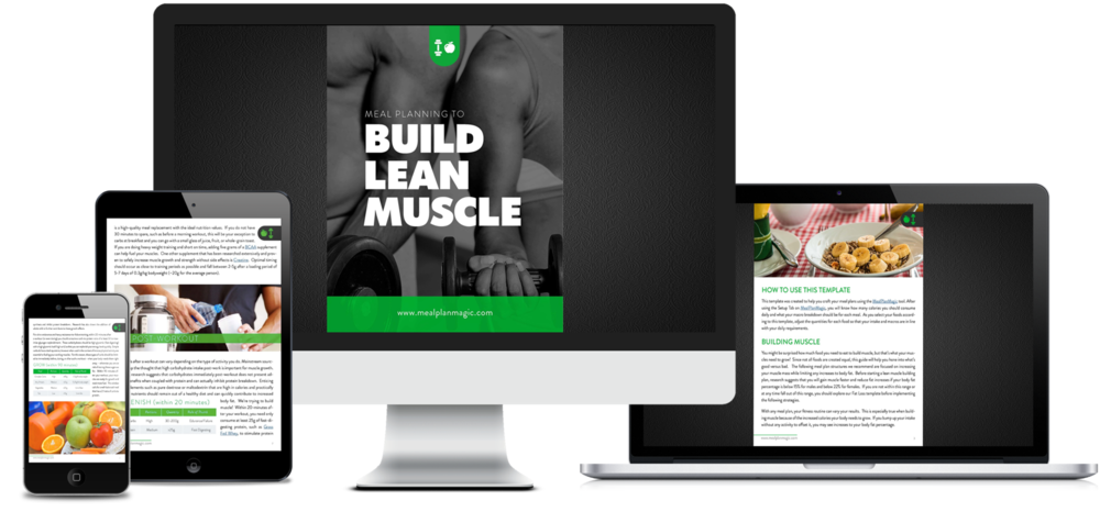 Meal+Planning+to+Build+Lean+Muscle_ebook+template+Meal+Plan+Magic+Prep+Software+Tool on any device