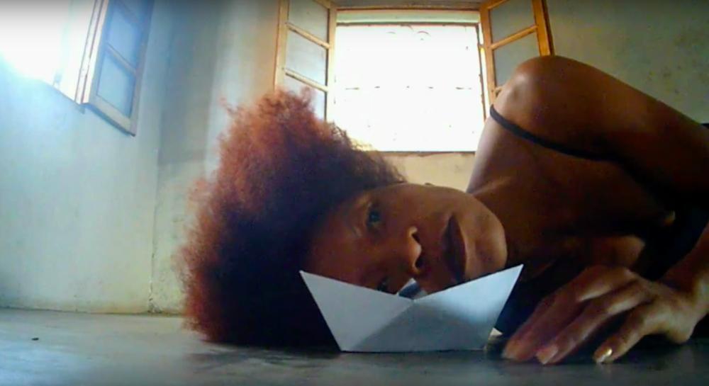 still from video by Julie Lariosa