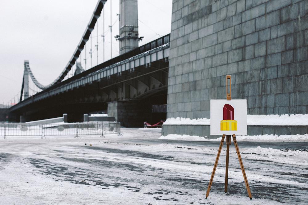 Style 💄   Acrylic,canvas,40  ×  40 cm. February, 2015