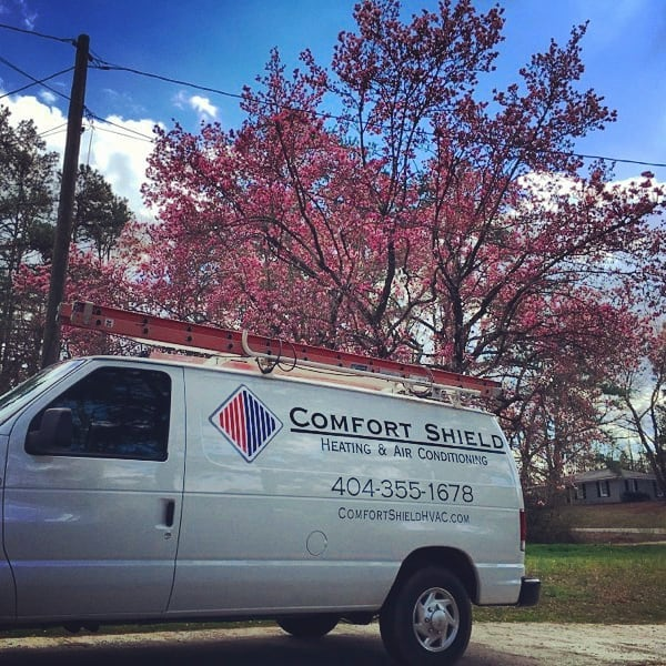Looks like an early Spring in Georgia! Switch those A/C's to Cool  The #art of #atlanta #airconditioning 📷 @linh_mae