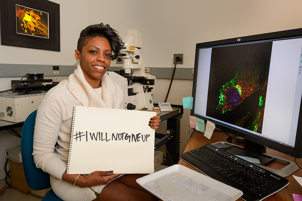 Courtney: I do not want others hoping for a career in science to have to depend on a lucky chance encounter.