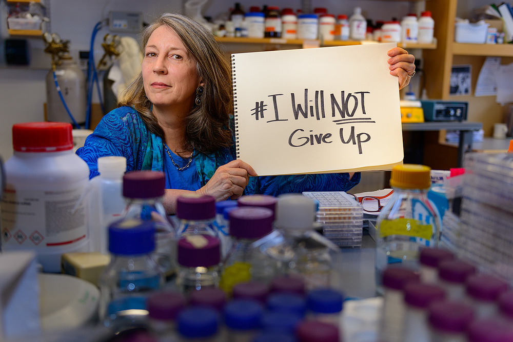 Terry Jo: I do science to cure my son with Angelman syndrome, my aunt with dementia, my friend with depression, my neighbor with cancer and my fellow human with Ebola.