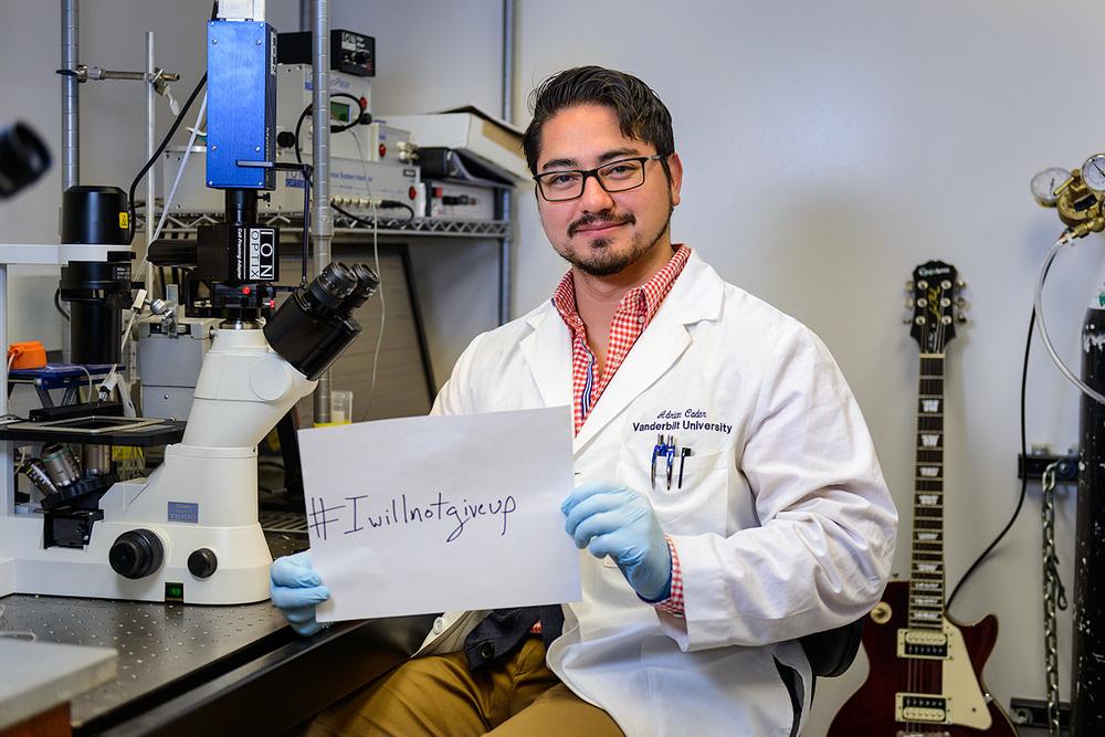 Adrian: I am dedicated to solving underlying pathophysiology causing cardiomyopathy.