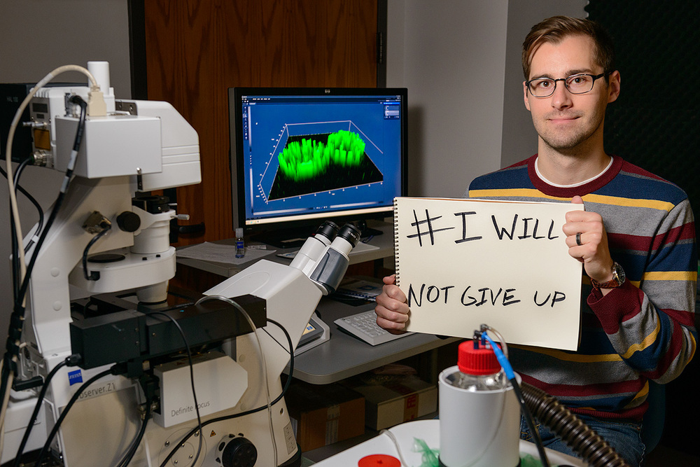 Chris: I will not give up until a cure for Type 1 diabetes is discovered.