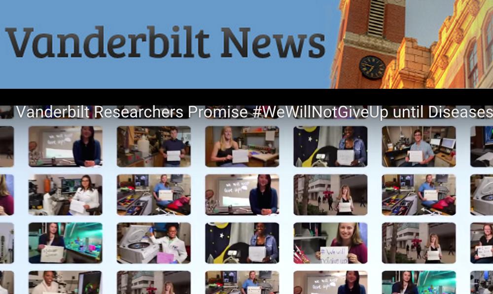 #WeWillNotGiveUp featured on Vanderbilt News!
