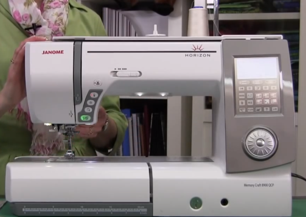 Janome Horizon MC 8900 QCP full-size