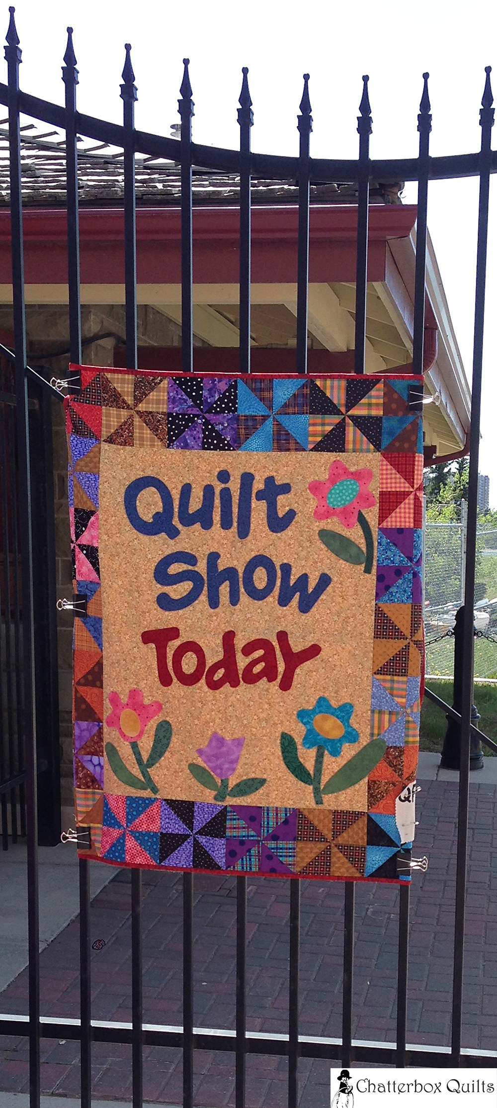 In case you couldn't tell there was a quilt show on that day