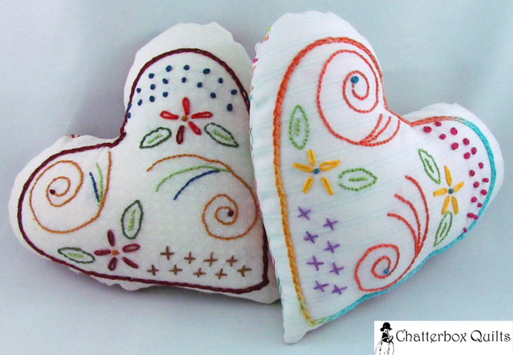 Flourishing Heart pattern by Chatterbox Quilts