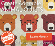 Patchwork Piecing: Woodland Animals with Elizabeth Hartman