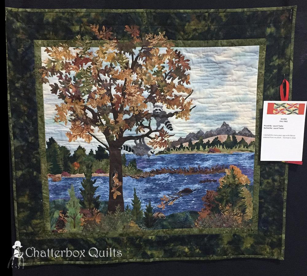 Fall Tree by Laurel Tooke