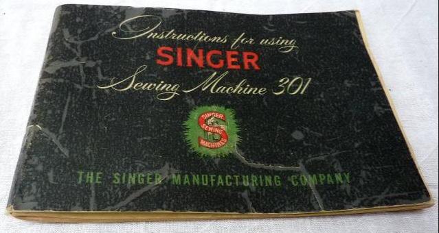 SINGER® 301 manual