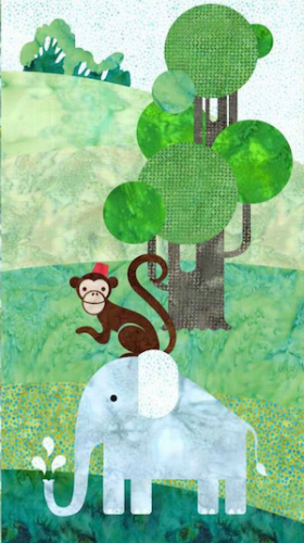 Block 3 - Monkey and Elephant