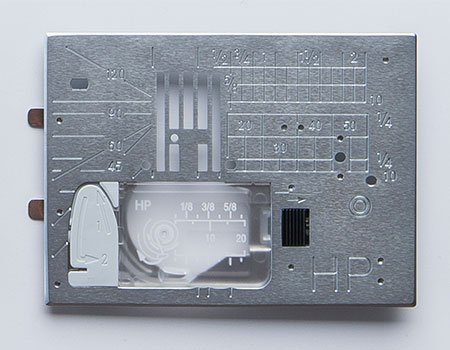 HP Needle Plate that comes with the Janome 9400