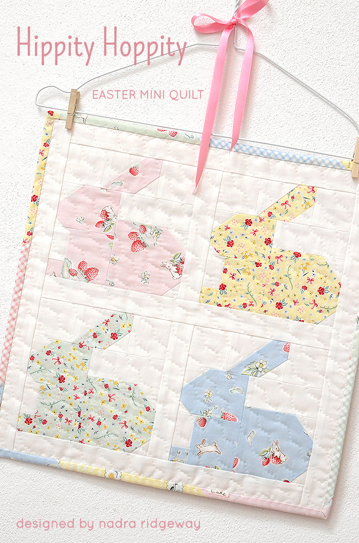 Hippity Hoppity Easter Mini Quilt from Ellis & Higgs