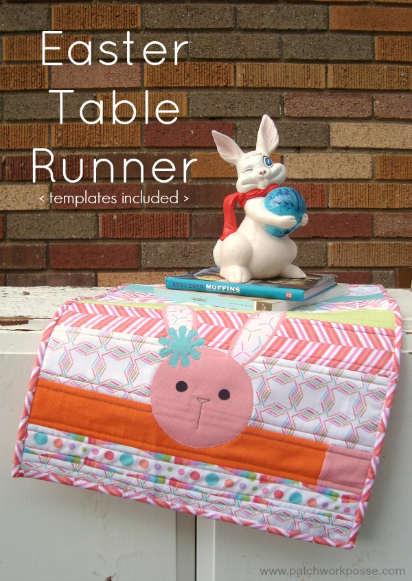 Easter Table Runner from Patchwork Posse