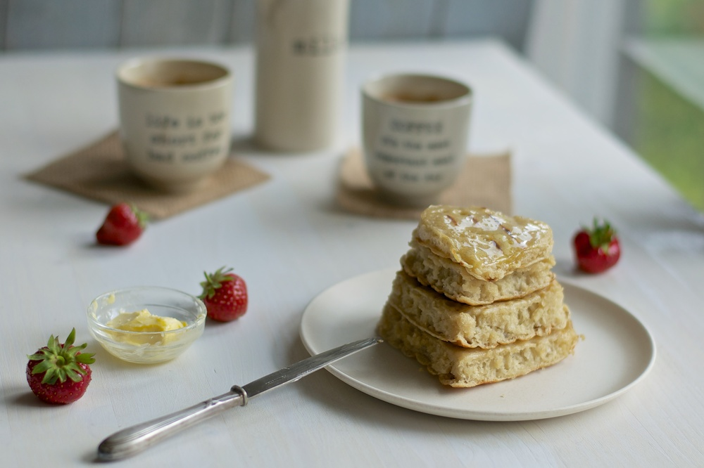 Vegan Crumpets - Kitchen Hoopla