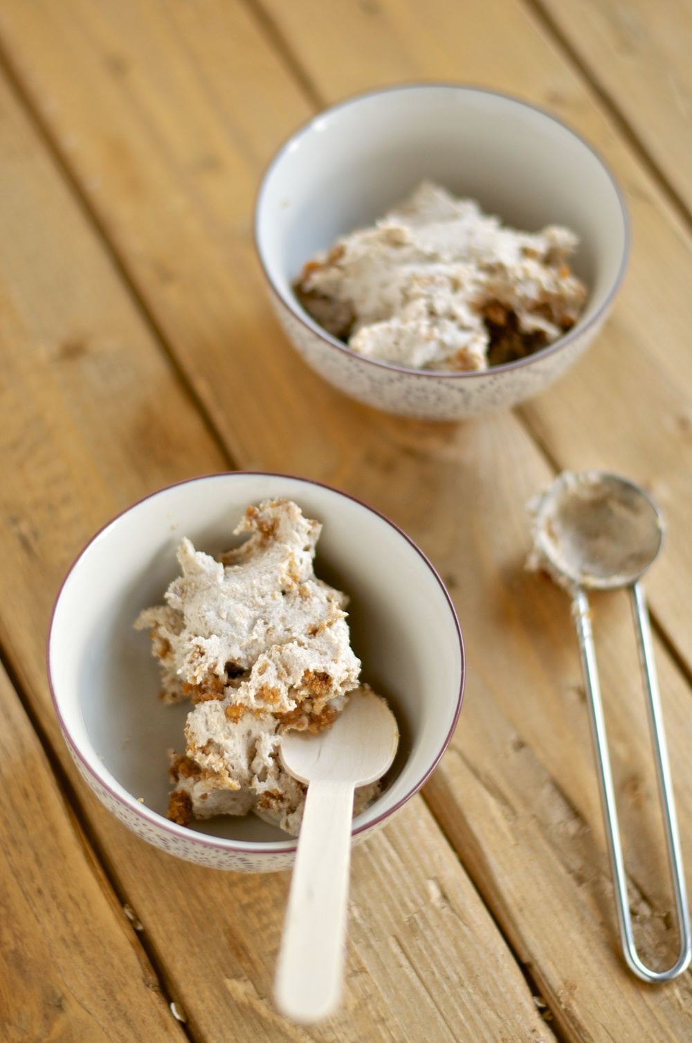 Peanut Butter Cookie Dough Ice Cream (Vegan) - Kitchen Hoopla