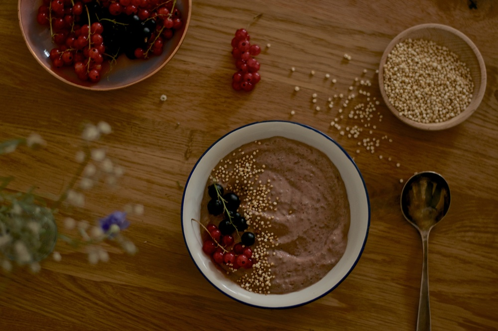 Raspberry Avocado Chia Bowl - Kitchen Hoopla