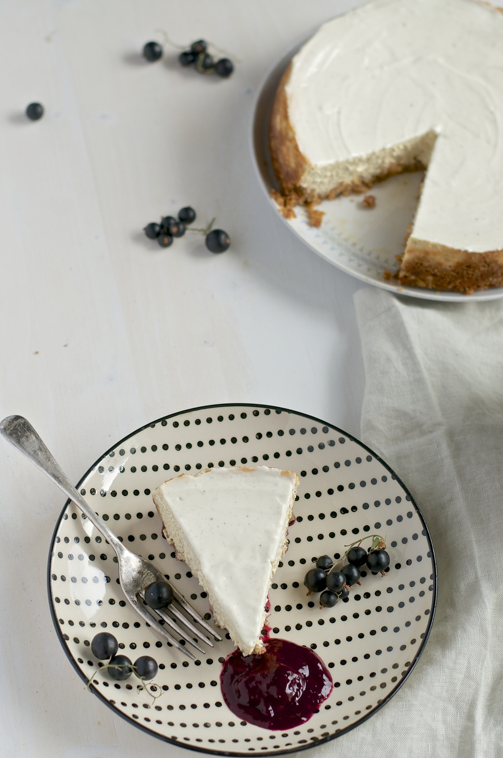 New York Cheesecake (gluten-free) - Kitchen Hoopla