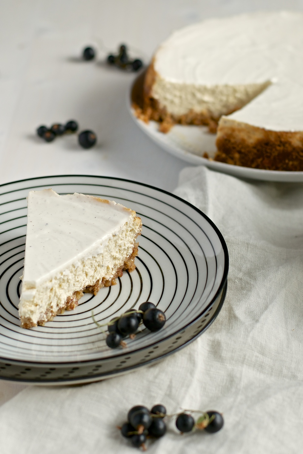 New York Cheesecake (gluten free) - Kitchen Hoopla