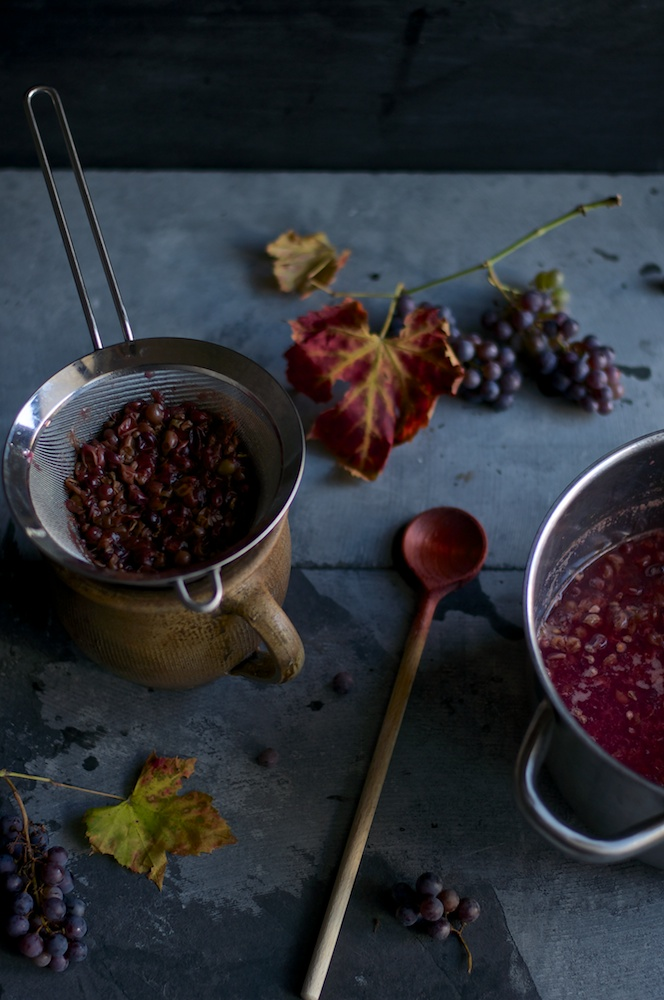 Concord Grape Chia Jam - Kitchen Hoopla