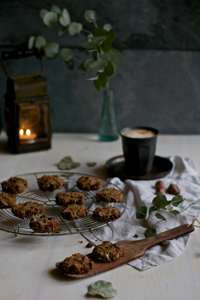 Chestnut & Hazelnut Cookies - Kitchen Hoopla