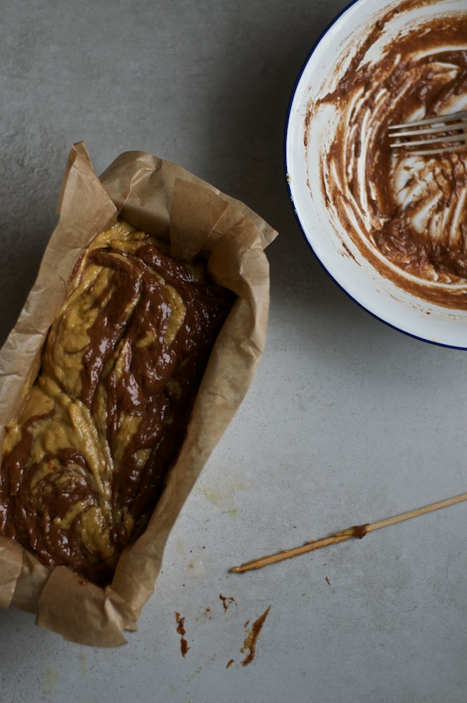 Banana Chocolate Swirl Bread - Kitchen Hoopla