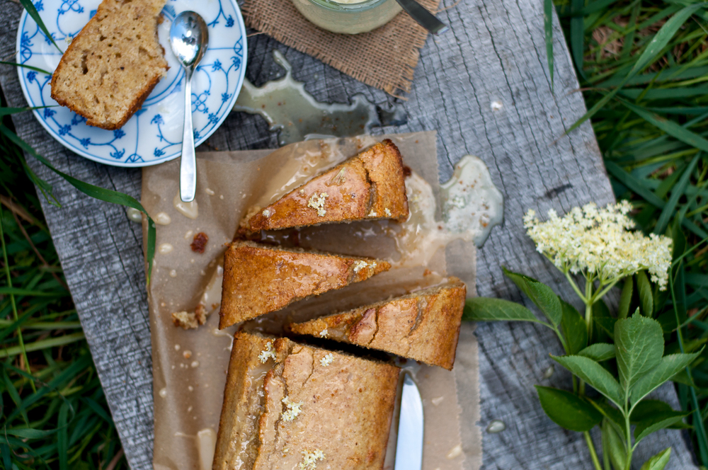 Elderflower-infused Semolina Cake - Kitchen Hoopla