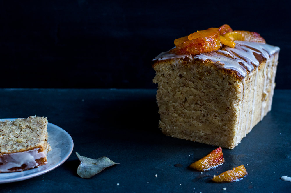 semolina citrus cake - kitchen hoopla