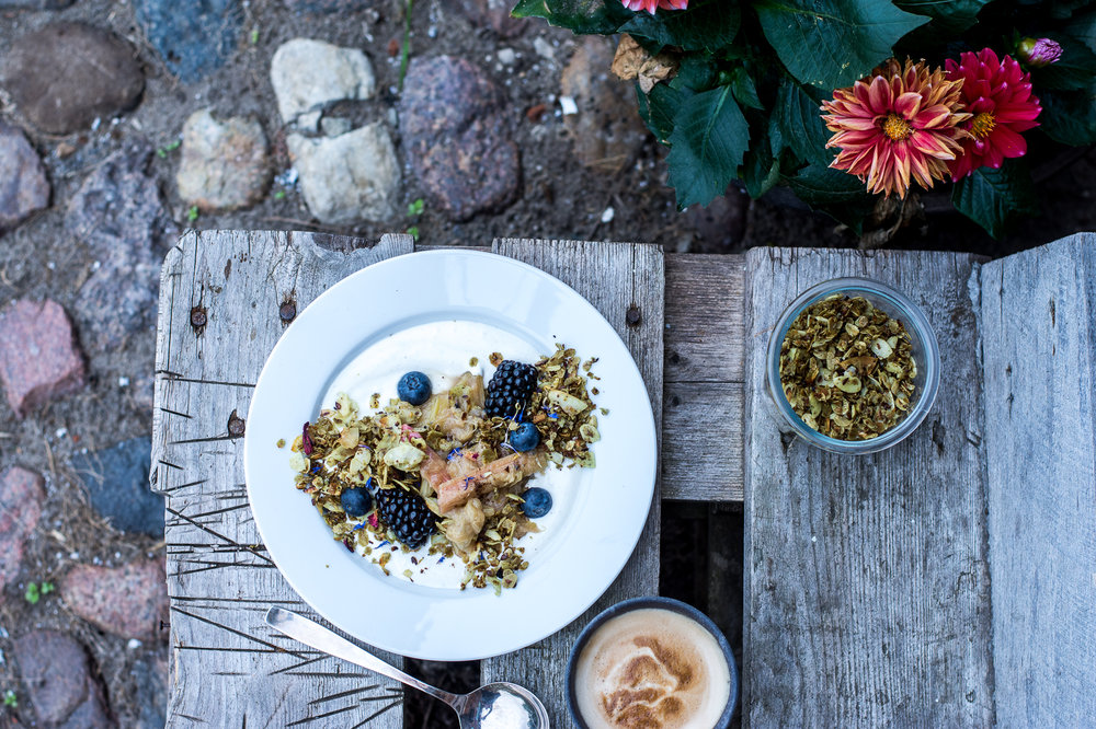 pumpkinseed oil granola - kitchen hoopla