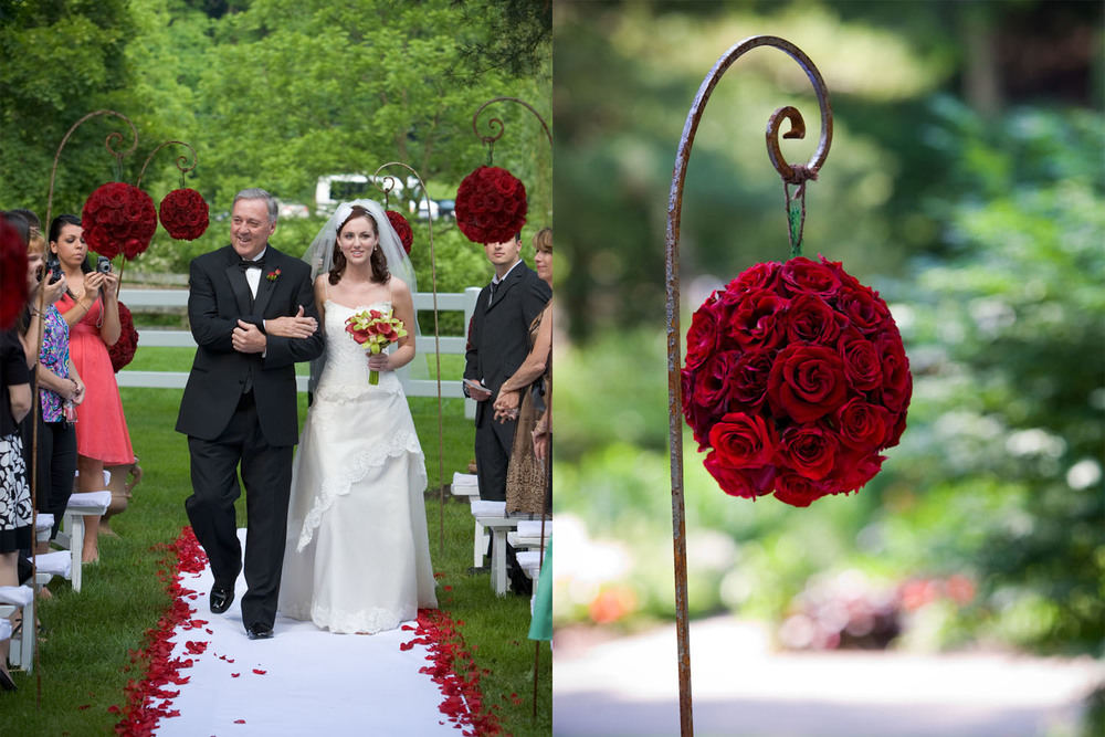 MK Photography   |  Wedding Ceremony  |  Farm in Glen Mills, PA