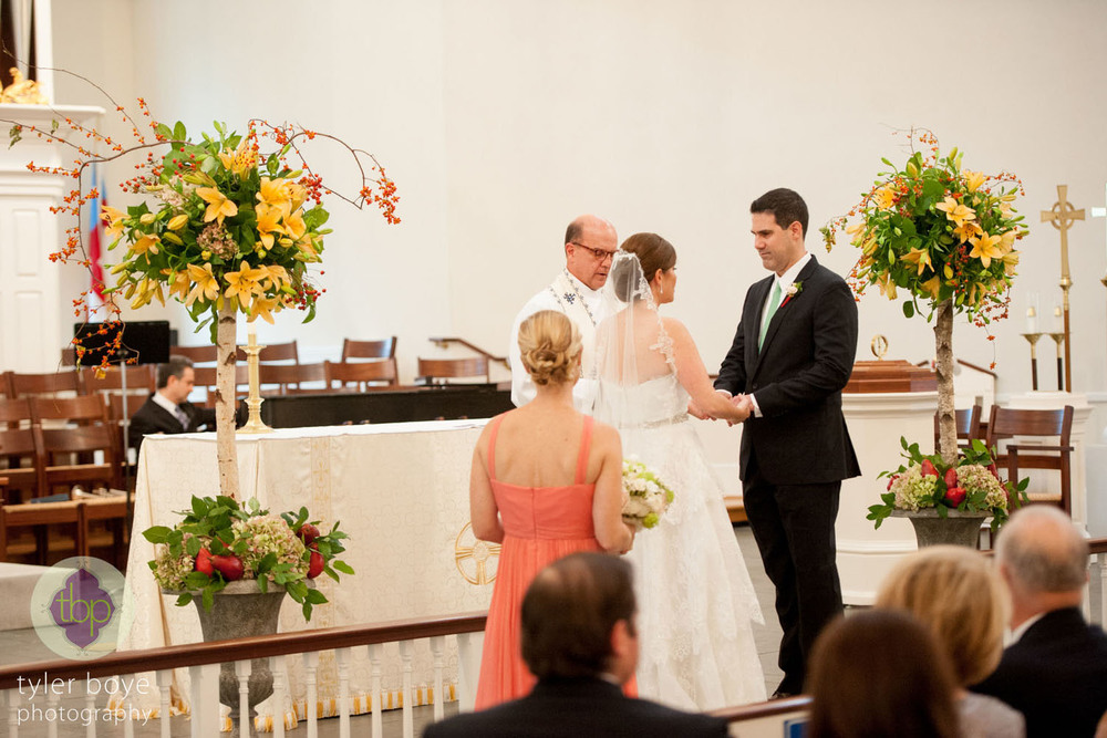 Tyler Boye Photography   |  Wedding Ceremony  |  Saint David's Church, Wayne, PA