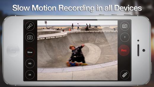 Slowmotion optagelser i 4K