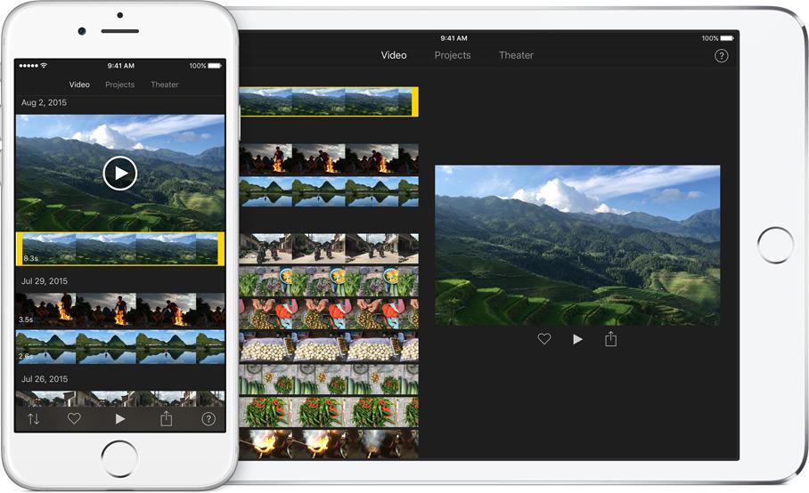 Imovie til dine redigeringer af video