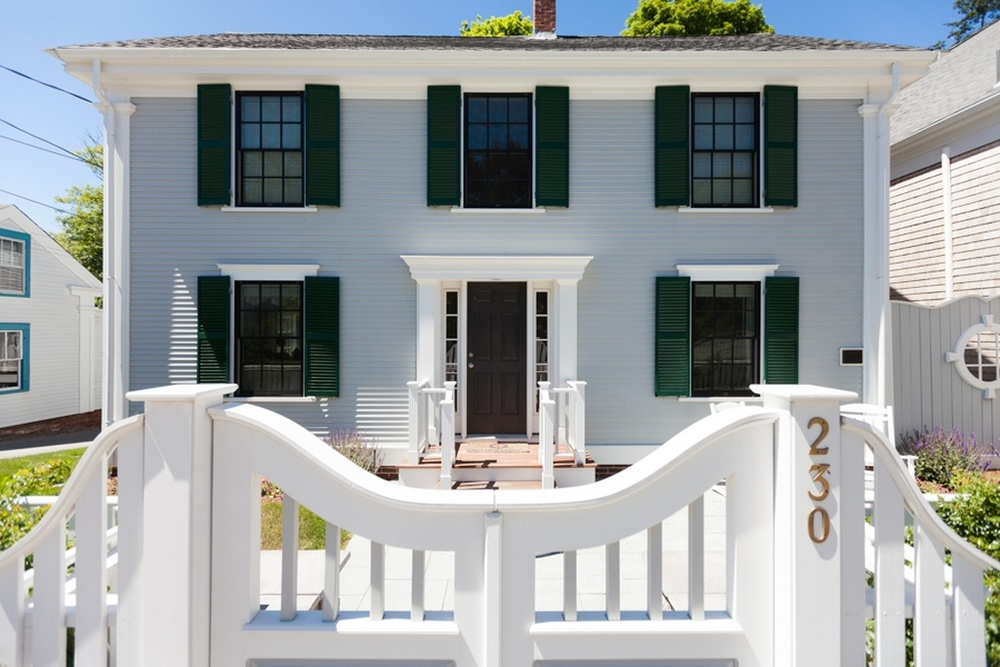 historically restored home in downtown wellfleet