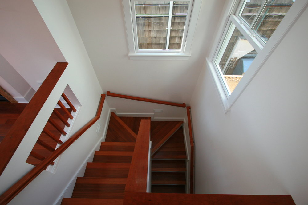 Cherry stair case in provincetown