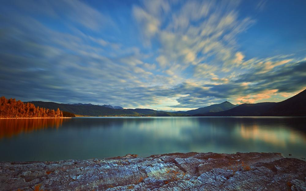201406  evening light at lake 6294 sh sRGB.jpg